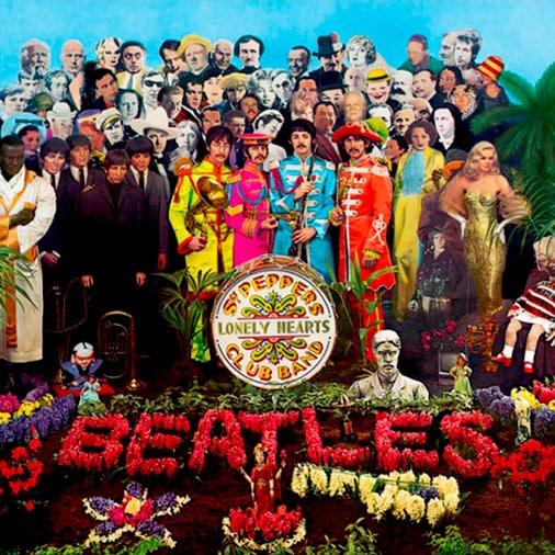 Cómo tocar Sgt. Peppers's Lonely Hearts Club Band (acordes para guitarra), de The Beatles